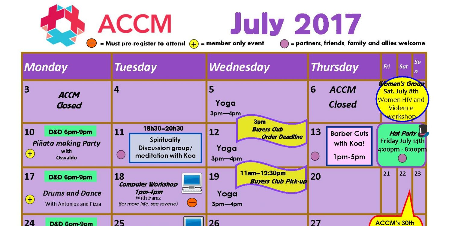July 2017 Calendar - accmontreal org - accmontreal org