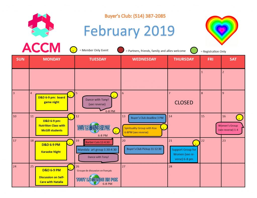 February Calendar Side 1 Updated