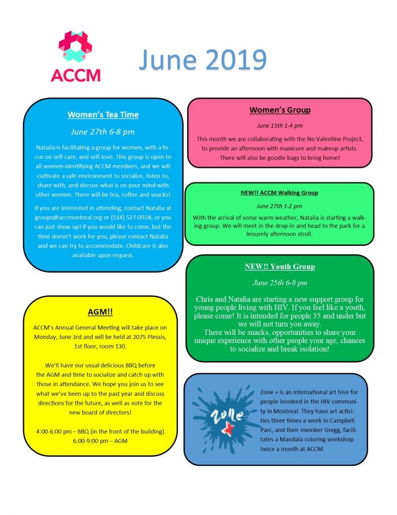 June Calendar Side 2