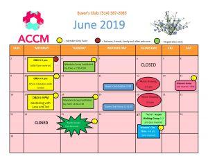 June Calendar side 1