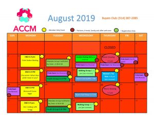 August calendar side 1