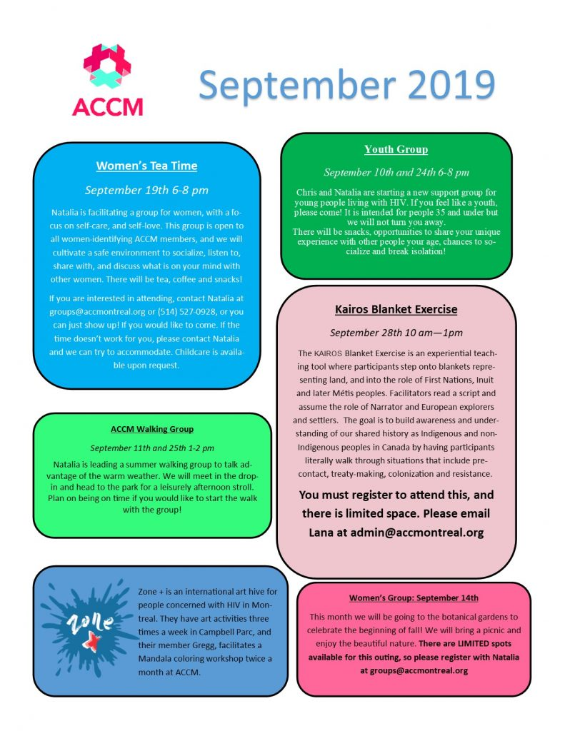 September calendar side 2